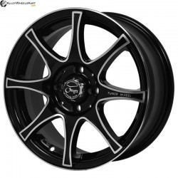 "15"" Onyx 470 Black Glossy & Polished Metal"