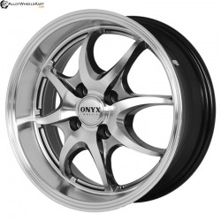 "15"" Onyx 1516 Metal Polished & Gloss Black w Lip"