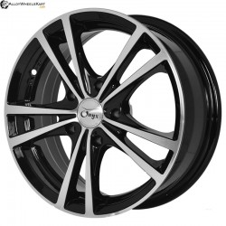 "15"" Onyx NF182 Black Glossy & Polished Metal"