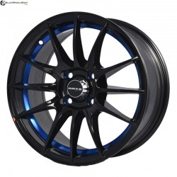 "15"" Onyx MM581 Black Glossy w Blue Ring"