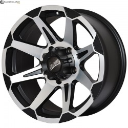 "17"" Flying Eagle 781 Metal Polished & Gloss Black"