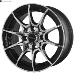 "13"" Onyx MR79 Black Glossy & Polished Metal"