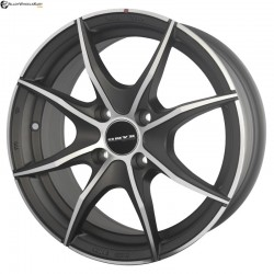 "15"" Onyx ML552 Gun Metal Satin & Matt Silver"