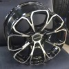 "15"" Onyx WMS05G Black Glossy & Polished Metal 10h"