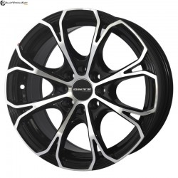 "15"" Onyx WMS05G Black Glossy & Polished Metal 8h"