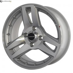 "14"" Onyx MS43G Silver (Hyper) Glossy & Polished Metal"