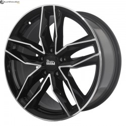 "17"" Flying Eagle MRS3 Black Glossy & Polished Metal"