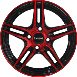 "15"" Incubus 599 Red Glossy & Gloss Black"