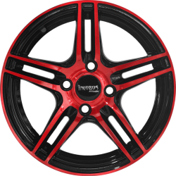 "14"" Incubus 599 Red Glossy & Glossy Black"