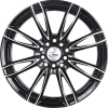 "15"" Onyx 1540 Black Machined 100 108"