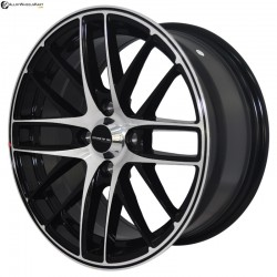 "15"" Onyx MR69U Black Glossy & Polished Metal"