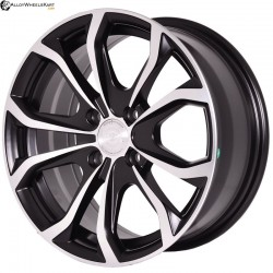 "15"" Flying Eagle 5279 Black Machined"