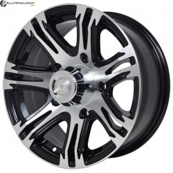 "16"" Flying Eagle ZJ01 Black Glossy & Polished Metal"