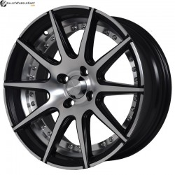 "15"" Flying Eagle XJ147 Black Satin & Matt Silver"